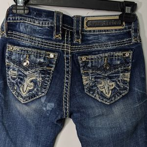 Rock Revival Carden Straight Jeans